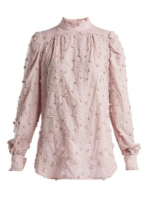 See By Chloe Embroidered Cotton Blouse