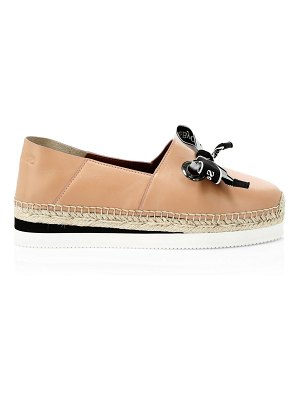 See By Chloe essie leather espadrilles
