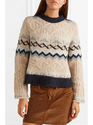 See By Chloe fair isle knitted sweater