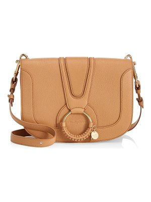 SEE BY CHLOE Hana Medium Leather Saddle Bag