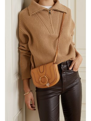 See By Chloe hana mini textured-leather shoulder bag