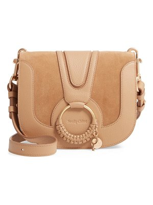 See By Chloe hana suede & leather shoulder bag