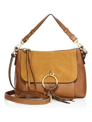 See By Chloe small joan suede & leather shoulder bag