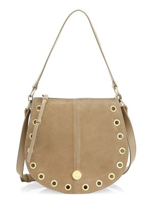 SEE BY CHLOE Kriss Medium Suede Hobo Bag