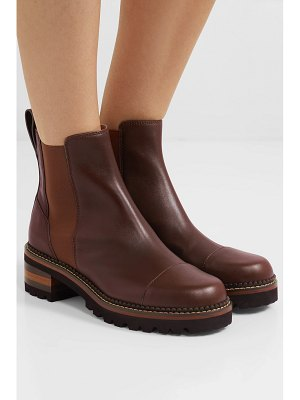 See By Chloe leather chelsea boots