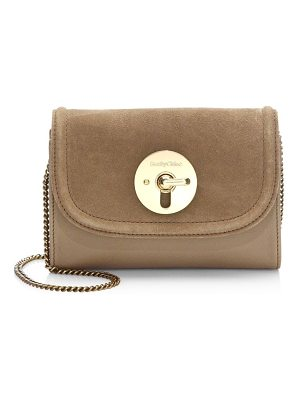 SEE BY CHLOE Lois Mini Suede & Leather Crossbody