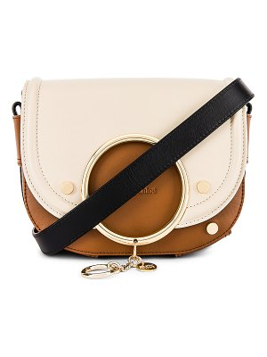 See By Chloe mara colorblock medium leather shoulder bag