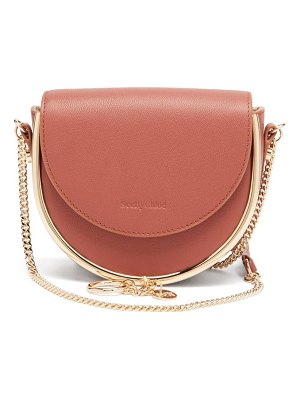 See By Chloe mara grained-leather small cross-body bag