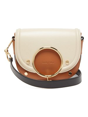See By Chloe mara tri-colour grained leather cross-body bag