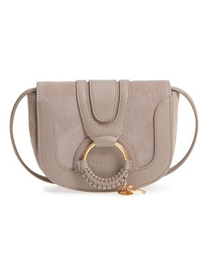 See By Chloe mini hana leather & suede crossbody bag