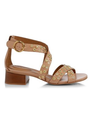 See By Chloe pennie embellished leather sandals