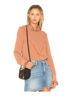 SEE BY CHLOE Plisse Embellished Top