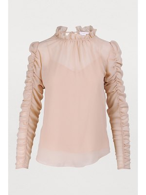 See By Chloe Ruffle sleeve top
