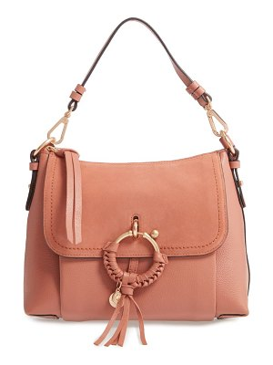 See By Chloe small joan suede & leather crossbody bag