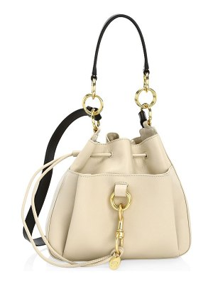 See By Chloe small tony leather bucket bag