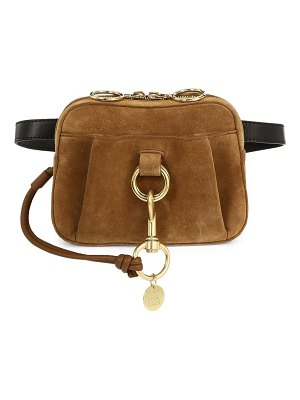 See By Chloe small tony ring suede belt bag