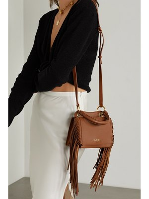 See By Chloe tilda fringed textured-leather tote