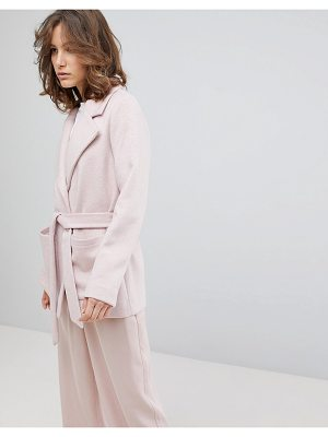 Selected femme cropped trench coat