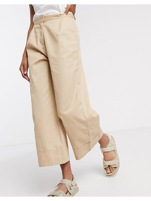 Selected femme culottes in beige-tan