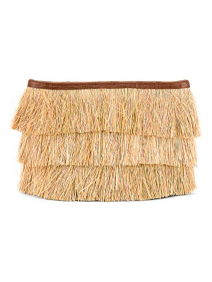 Sensi Studio frayed clutch