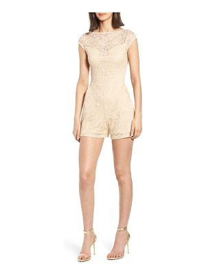 Sentimental NY lace romper
