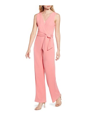 Sentimental NY plunge back jumpsuit