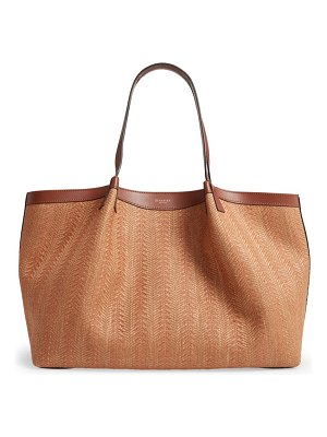SERAPIAN MILANO secret raffia tote bag