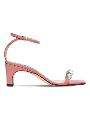 Sergio Rossi 60mm embellished patent leather sandals