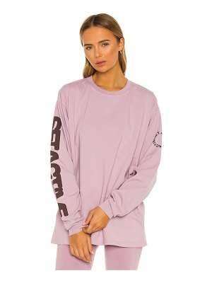 Set Active x revolve long sleeve boyfriend tee