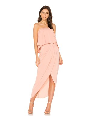 Shona Joy Strapless Frill Dress