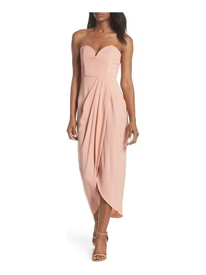 Shona Joy underwire bustier tulip hem dress