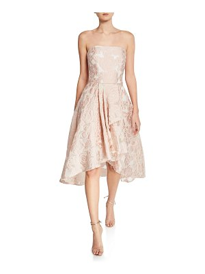 Shoshanna Isbell Floral Strapless Fit-and-Flare Cocktail Dress