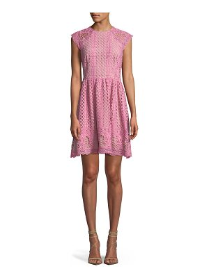SHOSHANNA Mori Lace A-Line Mini Dress