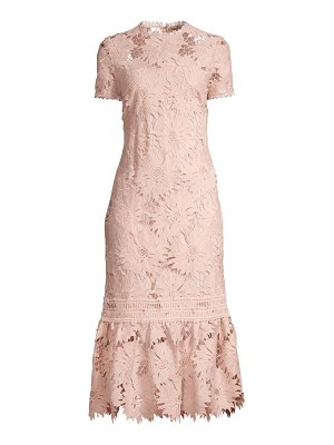 Shoshanna talisa floral lace dress