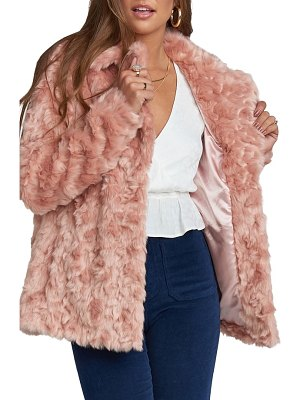 Show Me Your Mumu faux fur jacket