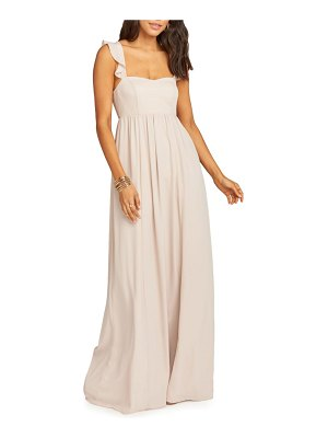 Show Me Your Mumu june ruffle strap evening dress