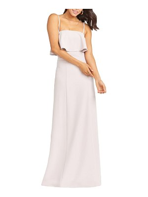 Show Me Your Mumu monaco strapless ruffle bodice evening gown