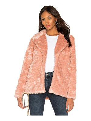 Show Me Your Mumu Park Ave Faux Fur Jacket