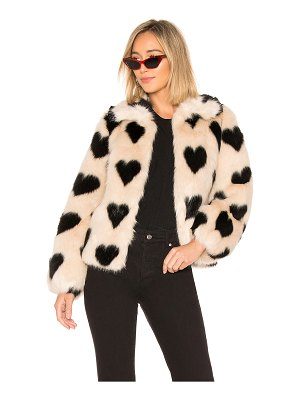 SHRIMPS Cullen Faux Fur Jacket