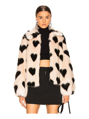 SHRIMPS Faux Fur Cullen Jacket