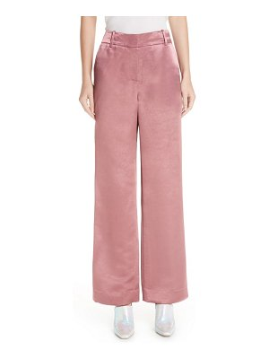 Sies Marjan textured satin pants