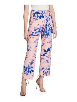 Sies Marjan Watercolor Floral Crop Pants