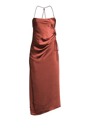 Significant Other aura ruched-side dress