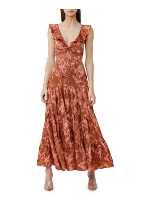 Significant Other soller tiered ruffle dress
