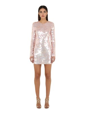 SILVIA ASTORE Embellished techno mini dress