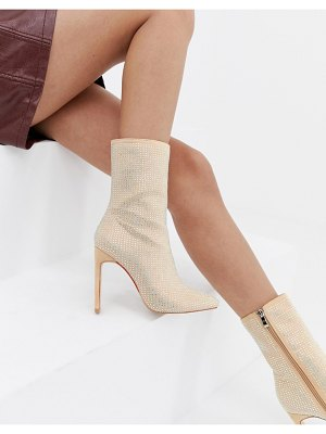 SIMMI Shoes simmi london embellished stiletto boots