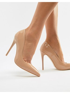 SIMMI Shoes simmi london imani coffee patent pumps