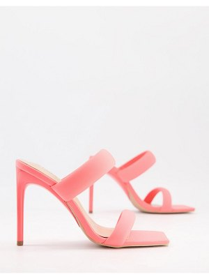 SIMMI Shoes simmi london skye padded mules in pink