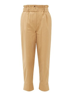 Simone Rocha paperbag-waist technical trousers