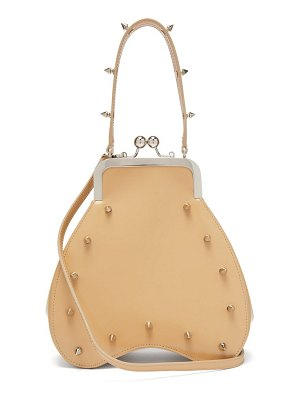 Simone Rocha spike-embellished leather cross-body bag